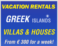 villas in greece - vacation rentals